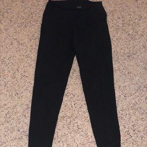 Colorfulkoala High Waisted 7/8 Black Leggings